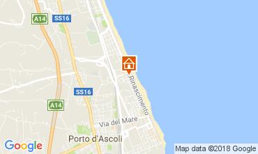 Mappa San Benedetto del Tronto Appartamento 113196