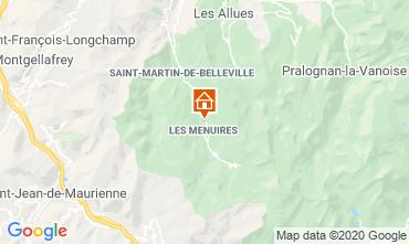 Mappa Les Menuires Chalet 1618