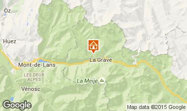 Mappa La Grave - La Meije Chalet 4764