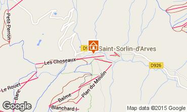 Mappa Saint Sorlin d'Arves Monolocale 2690