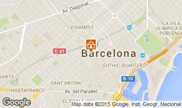 Mappa Barcellona Monolocale 92235