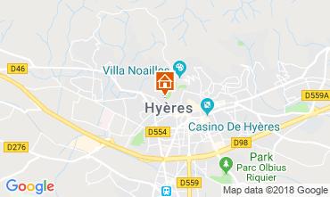 Mappa Hyères Casa 116924