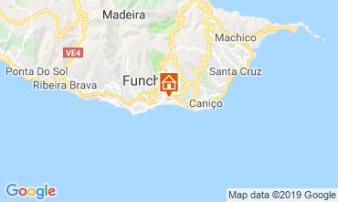 Mappa Funchal Appartamento 58610
