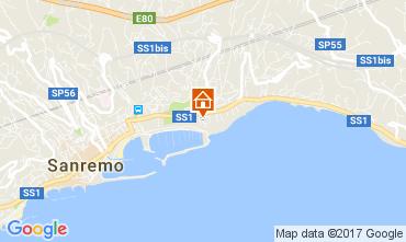 Mappa Sanremo Bungalow 48673