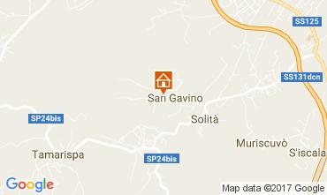 Mappa Budoni Appartamento 110438