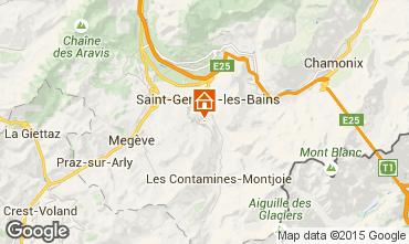 Mappa Megève Chalet 16662