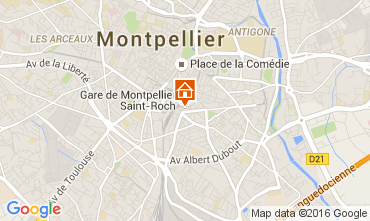 Mappa Montpellier Appartamento 104594