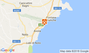Mappa Avola Villa  16981