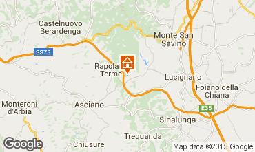 Mappa Rapolano Terme Appartamento 69682