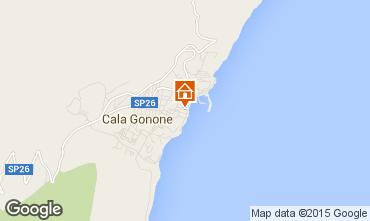 Mappa Cala Gonone Appartamento 69981