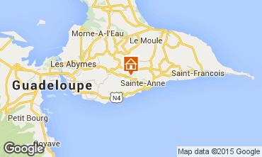 Mappa Sainte Anne (Guadalupa) Agriturismo 60117