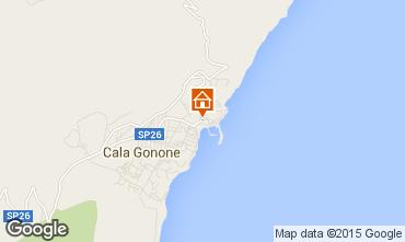 Mappa Cala Gonone Appartamento 59401