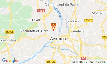 Mappa Avignone Villa  109138