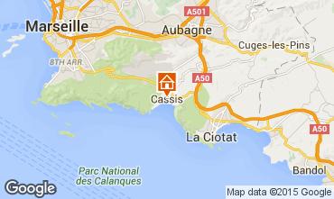Mappa Cassis Appartamento 89957