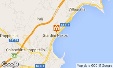Mappa Giardini Naxos Appartamento 100038
