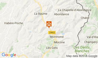 Mappa Morzine Chalet 101488