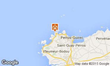 Mappa Perros-Guirec Appartamento 39001
