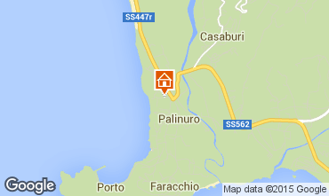 Mappa Palinuro Appartamento 86319