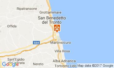 Mappa San Benedetto del Tronto Appartamento 43666