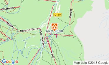 Mappa Les Arcs Appartamento 173