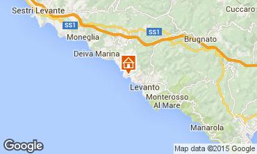 Mappa Bonassola Appartamento 84222