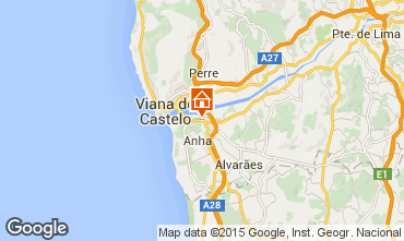 Mappa Viana Do castelo Casa 85590