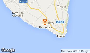 Mappa Pescoluse Alloggio insolito 103154