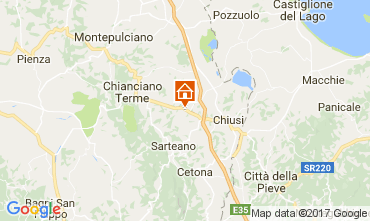 Mappa Chianciano Terme Villa  111227