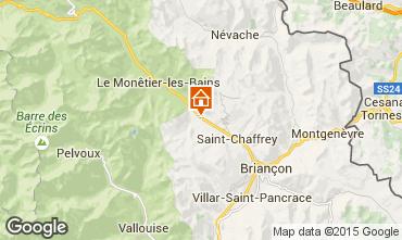 Mappa Serre Chevalier Monolocale 74661