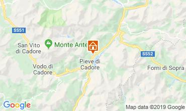 Mappa Cortina d'Ampezzo Appartamento 26458