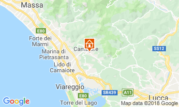 Mappa Camaiore Casa 108471
