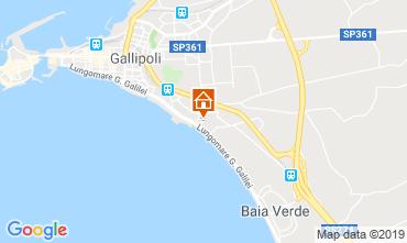 Mappa Gallipoli Appartamento 119719