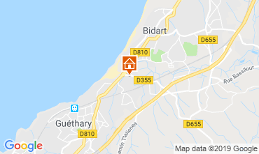 Mappa Bidart Casa 6366