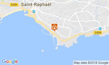 Mappa Saint Raphael Monolocale 115093