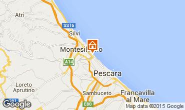 Mappa Montesilvano Marina Appartamento 69348
