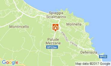 Mappa Vieste Appartamento 106210