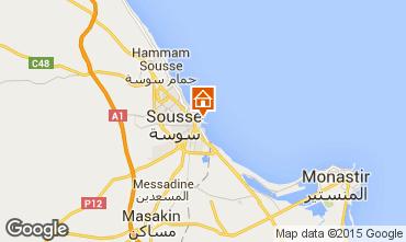 Mappa Susa (Sousse) Appartamento 25792