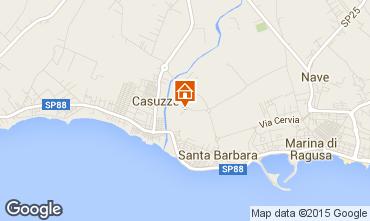 Mappa Marina di Ragusa Appartamento 35318