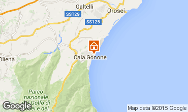 Mappa Cala Gonone Appartamento 51950