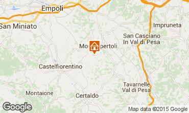 Mappa Montespertoli Appartamento 74504