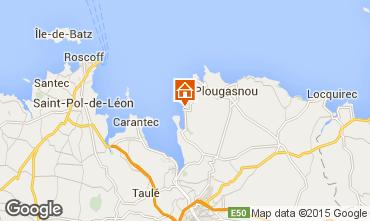Mappa Plougasnou Casa 53936