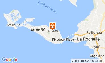 Mappa La Flotte en Ré Casa 106733