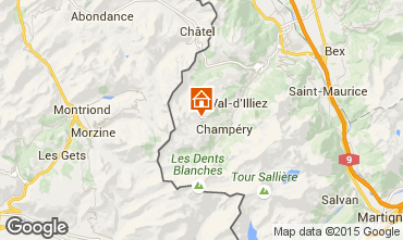 Mappa Les Crosets Chalet 14794