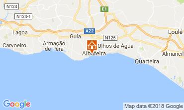 Mappa Albufeira Villa  114694