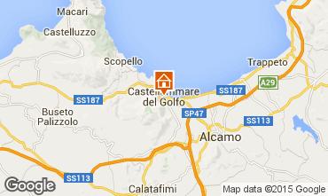 Mappa Castellammare del Golfo Appartamento 69495