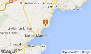 Mappa Les Issambres Appartamento 102486