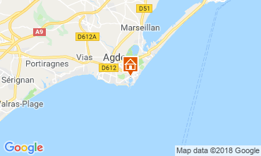 Mappa Cap d'Agde Monolocale 117600