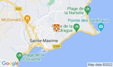 Mappa Sainte Maxime Villa  15881