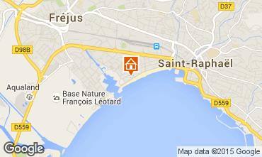 Mappa Fréjus Appartamento 21982