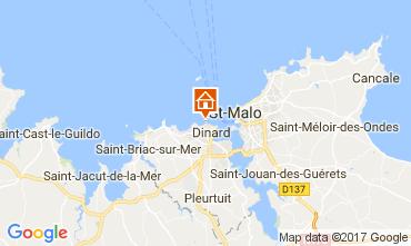 Mappa Dinard Alloggio insolito 111904